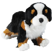 "Trevor the Bernese Mountain Dog 14"" Plush"