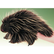 Porcupine Hand Puppet by Folkmanis