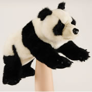 Small Panda Hand Puppet by Folkmanis