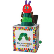 Eric Carle Very Hungry Caterpillar Jack in the Box