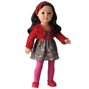"Favorite Friends 18"" Playfully Pretty - Brunette Doll"