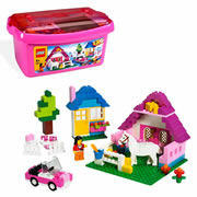 LEGO® Pink Brick Box Large (5560)