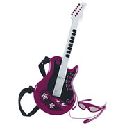 Rock Star Guitar - Red