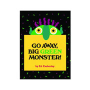 Go Away Big Green Monster - Hardback