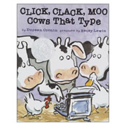 Click Clack Moo Cows That Type (Hardback)