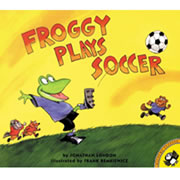 Froggy Plays Soccer - Paperback