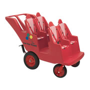 Fat Tire Baby Bye-Bye Baby Buggy 4 Seater