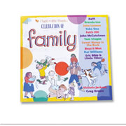 Celebration of Family Music CD