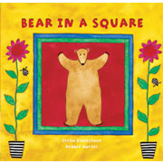Bear In A Square - Board Book
