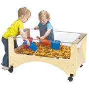 See Thru Sensory Sand & Water Table - Toddler Height