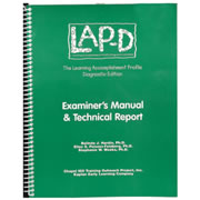 LAP-D™ Examiner's Manual w/Technical Report