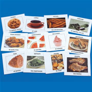 Bilingual Photo Food Cards (Set of 90)