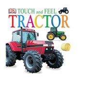 Tractor Touch and Feel Board Book