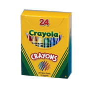 Crayola® 24-Pack Crayons - Standard (Single Box)