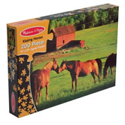Kissing Horses 200 piece Jigsaw puzzle