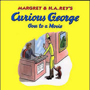 Curious George Goes To The Movies (Book w/CD)