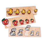 Size Progression Puzzles (Set of 3)