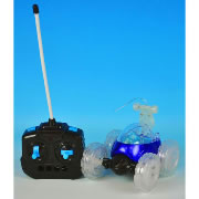 Turbo Twisters RC Stunt Car - Blue