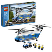 LEGO® CITY Police Heavy Lift Helicopter (4439)