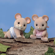 Calico Critters™ Norwood Mouse Twins