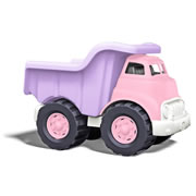 Eco-Friendly Pink Dump Truck