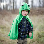 Frog Toddler Cape