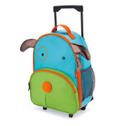 Zoo Kids Rolling Luggage - Dog