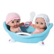 Lil' Cutesies® Twins in Bathtub