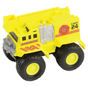 Matchbox  Rev Rigs Yellow Fire Truck