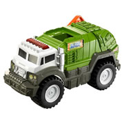 Matchbox  Power Shift Garbage Truck - Green