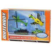 Matchbox Mission Force Military Crew