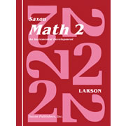 Saxon Math 2 Home Study Kit (First Edition)