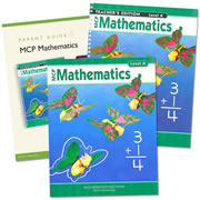 MCP Mathematics Homeschool Bundle Level A (Grade 1)