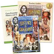 Core Knowledge History & Geography Homeschool Bundle Level 3 (Grade 3)