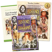 Core Knowledge History & Geography Homeschool Bundle Level 4 (Grade 4)