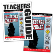The Mystery of Blackbeard the Pirate & Teacher Guide Set