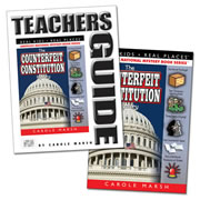 The Counterfeit Constitution Mystery & Teacher Guide Set