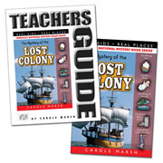 The Mystery of the Lost Colony & Teacher Guide Set
