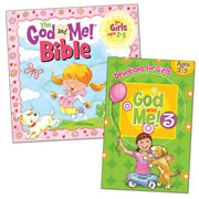 God & Me Devotional Set (Ages 2-5)