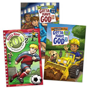 Gotta Have God Devotional Books For Boys (Set of 3)