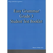 Easy Grammar 3 Test Book