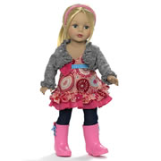"Favorite Friends 18"" Flower Power Doll"