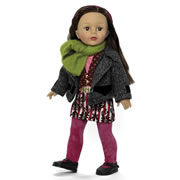 "Favorite Friends Mixed Prints 18 "" Doll"