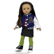 "Favorite Friends Varsity Girl 18"" Doll"