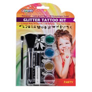 Party Glitter Tattoo Kit