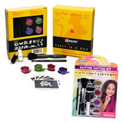 Party In a Box & Glitter Tattoo Set 1