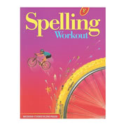 MCP Spelling Workout Student Workbook Level F (Grade 6)
