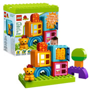 LEGO® DUPLO® Toddler Build and Play Cubes (10553)