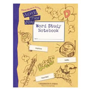 Words Their Way Student Workbook Level D (Grade 4)