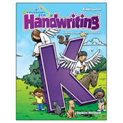 A Reason For Handwriting Student Workbook Level K (Kindergarten)